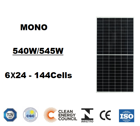 530W~550W   (182mm Cell )
